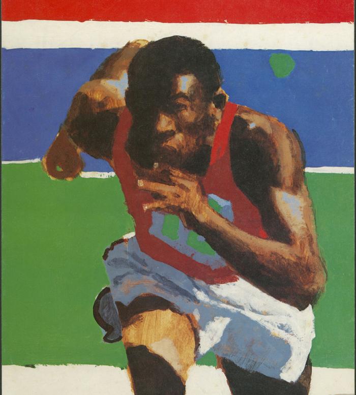 Olympic Runner, 1980 Summer Games 1980 - Robert Cunningham