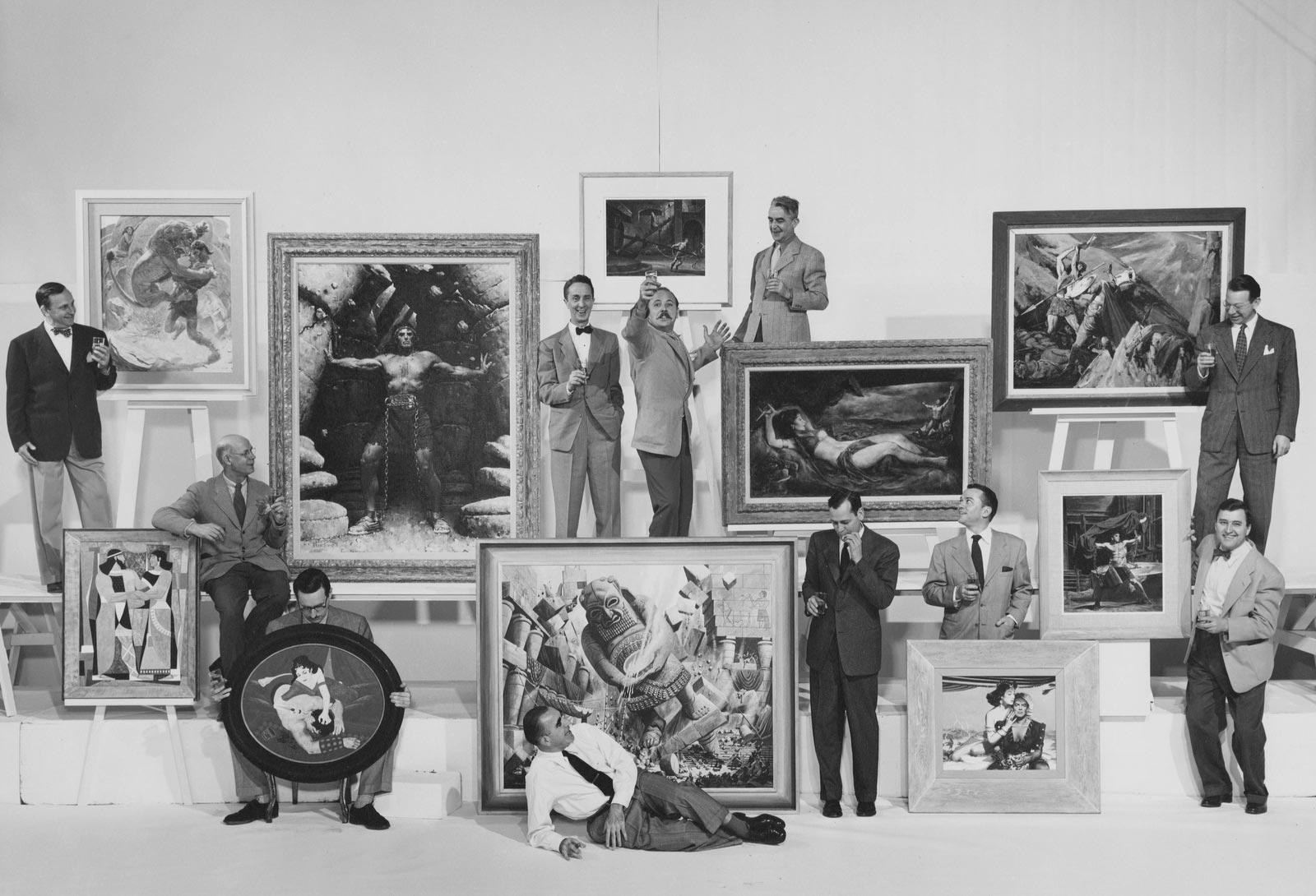 Famous Artist School - Group Photo