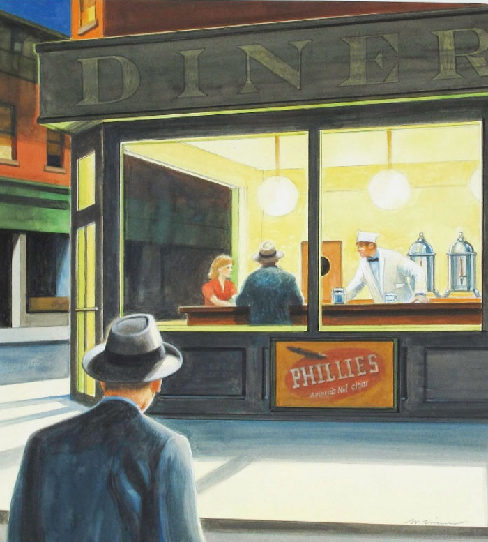 Edward Hopper Paints His World 2014 - Wendell Minor