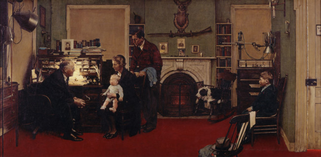 Norman Rockwell - Country Doctor
