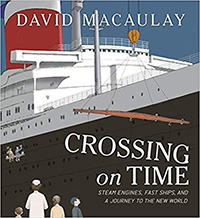 Crossing on Time - Macaulay Book