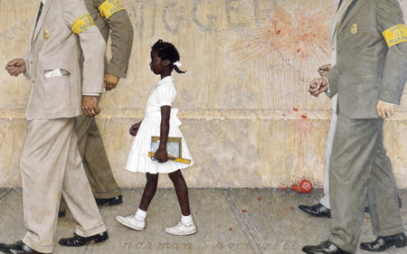 The Problem We All Live With - Art of Norman Rockwell