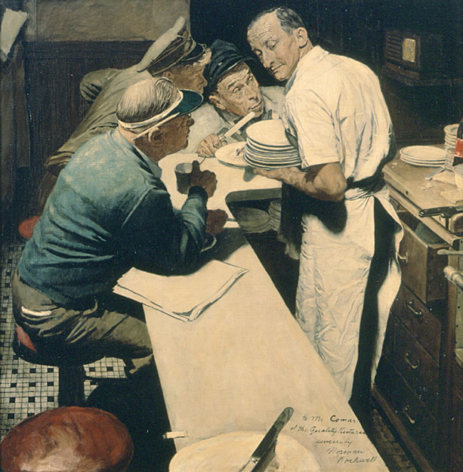 War News - Art of Norman Rockwell