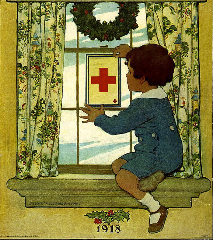 Have You a Red Cross Service Flag? 1918, Jessie Willcox Smith (1863-1935)