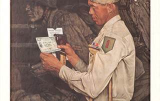 "Norman Rockwell (1894-1978), ""Disabled Veteran"""