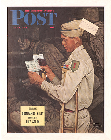 """Norman Rockwell (1894-1978), """"Disabled Veteran"""""""