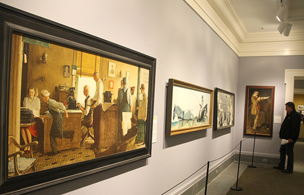 Norman Rockwell Museum galleries
