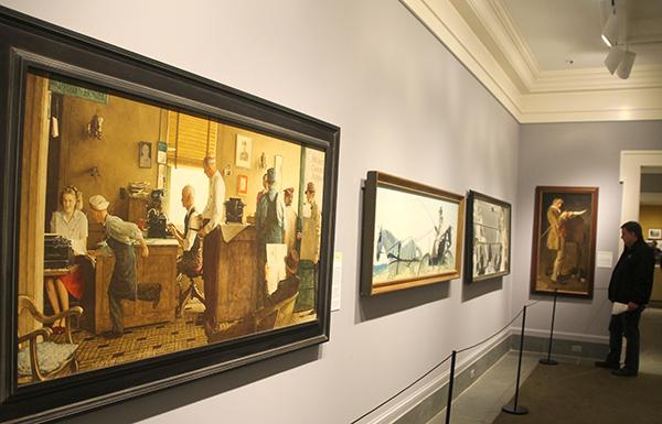 Norman Rockwell Museum galleries