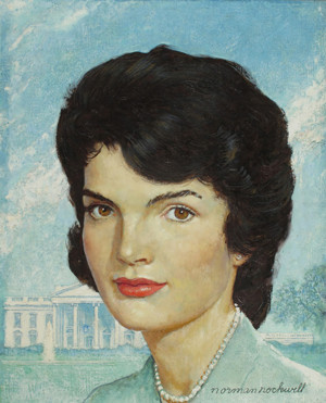 Portrait of Jackie Kennedy -Rockwell