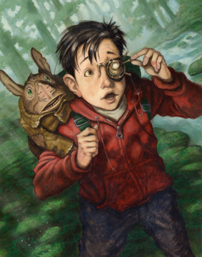 Image credit: The Spiderwick Chronicles: The Seeing Stone, 2003, gouache on Bristol board. ©Tony DiTerlizzi. All rights reserved.