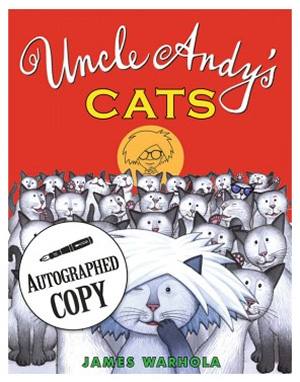 Uncle Andys Cats - James Warhola