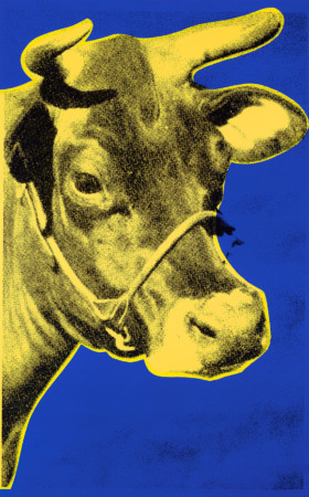 Yellow Cow - Andy Warhol