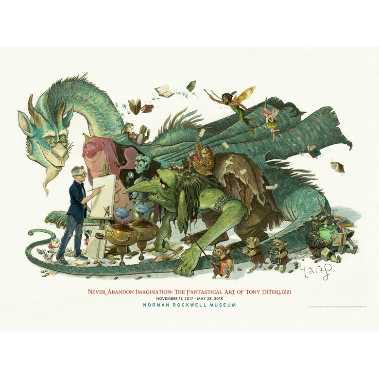 Tony DiTerlizzi Exhibition Poster
