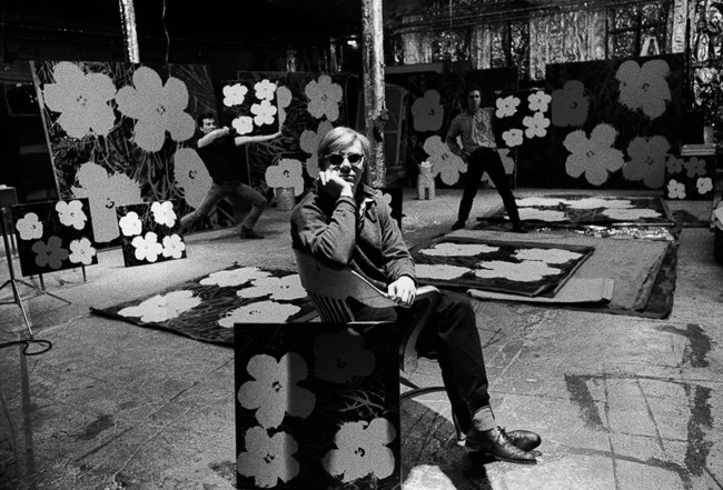 Photo of Andy Warhol, 1964
