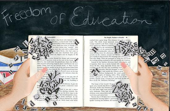 Emily Bini, Freedom of Education