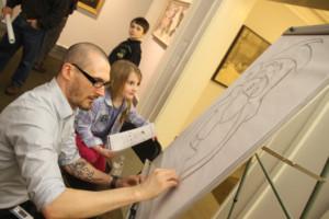 Norman Rockwell Museum art activities
