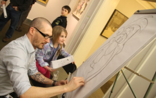 Norman Rockwell Museum art activities
