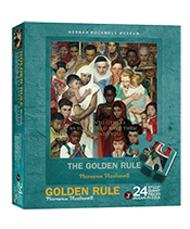Norman Rockwell - Golden Rule Puzzle