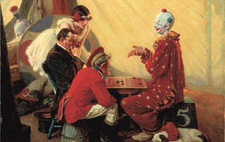 "Norman Rockwell (American, 1894-1978), ""Checkers,"" 1929."