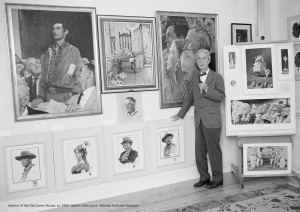 Norman Rockwell Museum, Exhibits