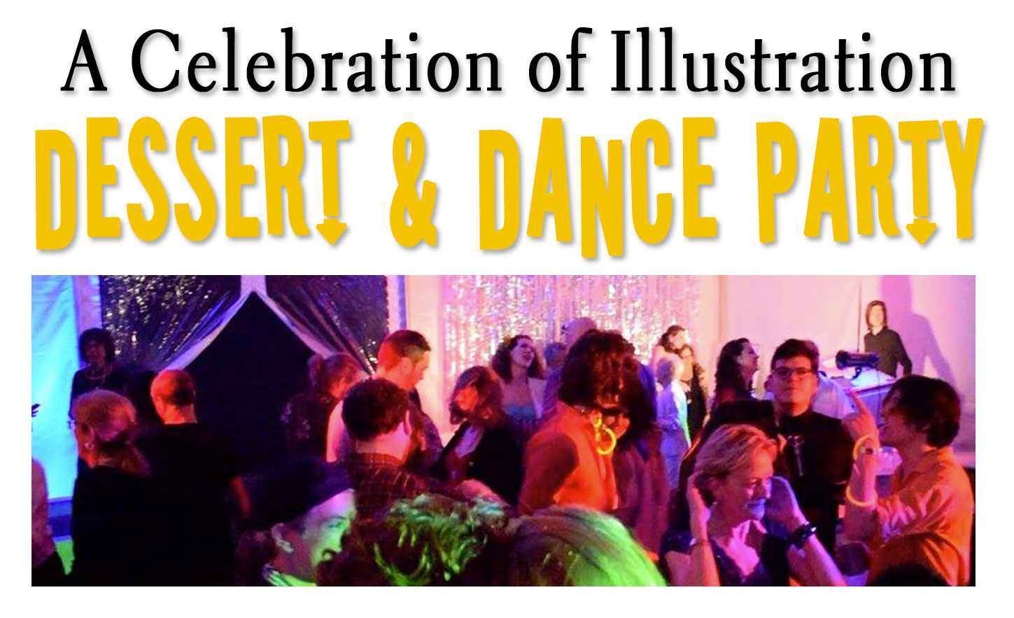 A Celebration of Illustration: Dance Party!